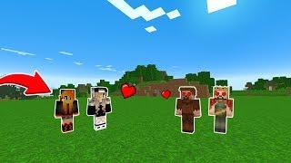 ARDA VE RÜZGAR KIZLARLA GEZİYOR! 😱 - Minecraft