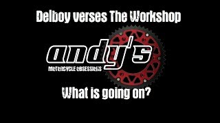 Delboy verses The Workshop - What's Going On?