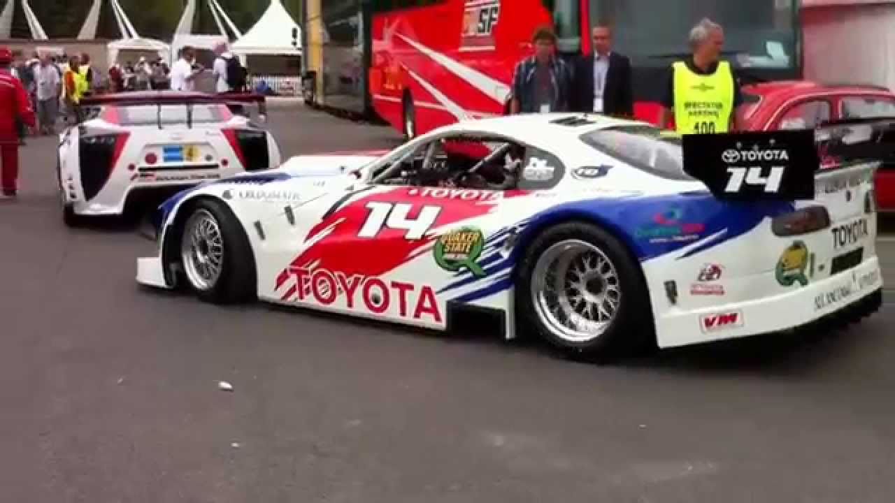 Toyota Supra V8 race car at Goodwood Festival of Speed 2010 - YouTube