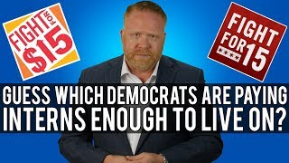UNBELIEVABLE!!! You'll Never Guess the List of Democrats NOT Paying Their Interns!