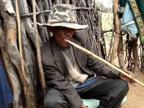 Mouth Bow, African Music, !Xo San, Botswana