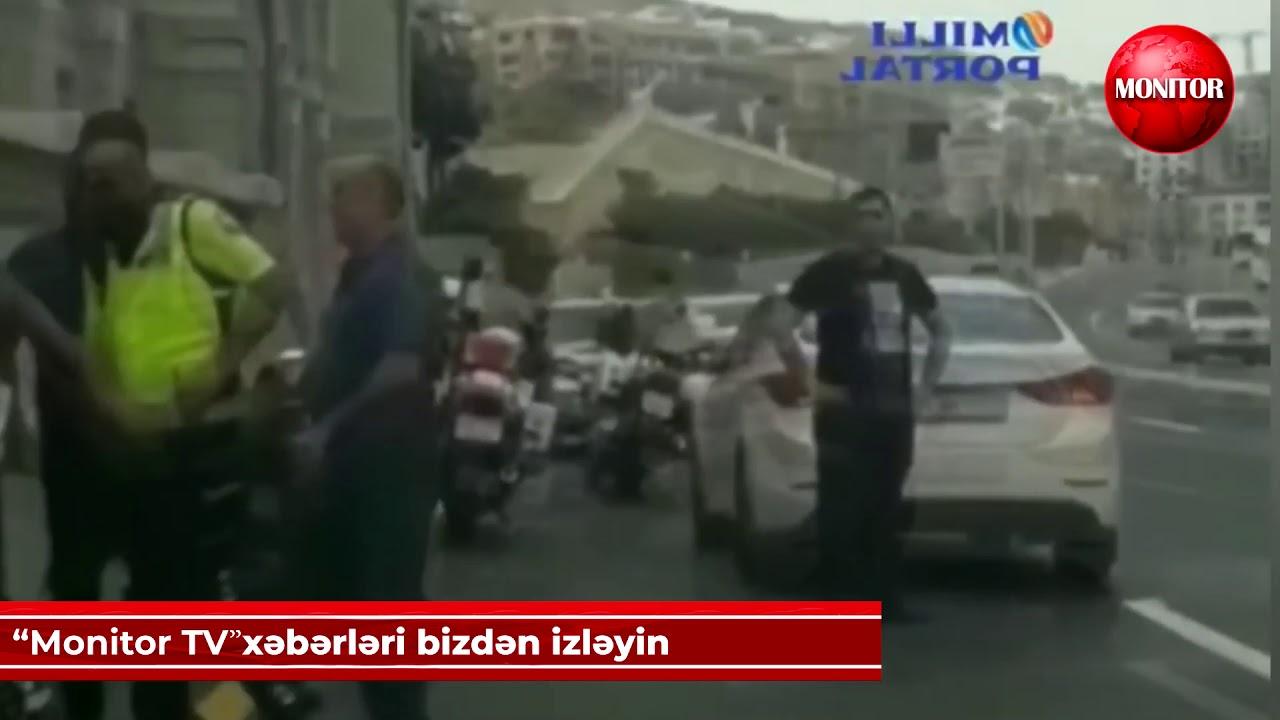Polislə vətəndaş arasında münaqişə - YENİ
