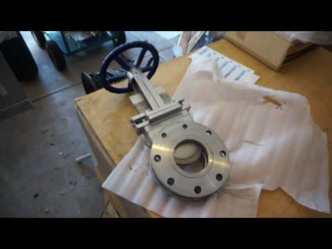 Stainless Steel Knife Gate Valve   DEWATER PRODUCTS 6bb4aaf460f1