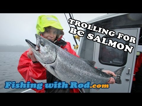 How To Fish: Trolling For BC Salmon