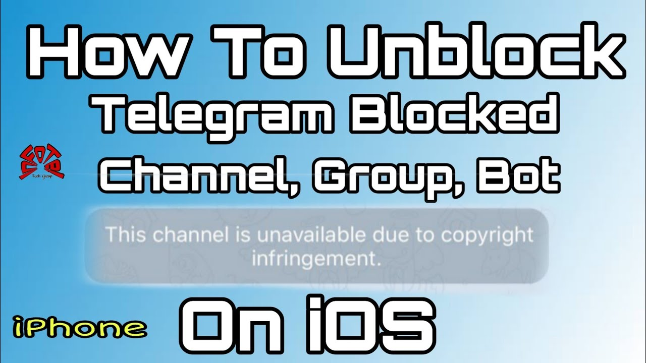 Bypass Blocked Telegram Channel Group And Bot In iOS | iphone