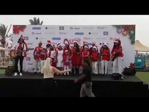 Dubai Music School Children's Choir at Polo & Equestrian Club Festive fair 2018