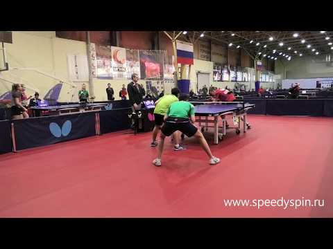 Doubles Assorty, Part 1.Russian Junior Table Tennis Championship 2019. FHD