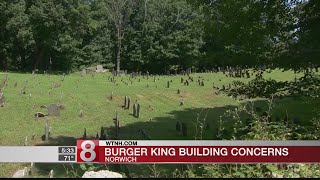 Residents push to stop planned construction of Burger King at historic Norwich cemetery