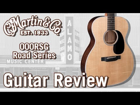 New For 2018The Martin 000RSG Acoustic Guitar Review Road Series