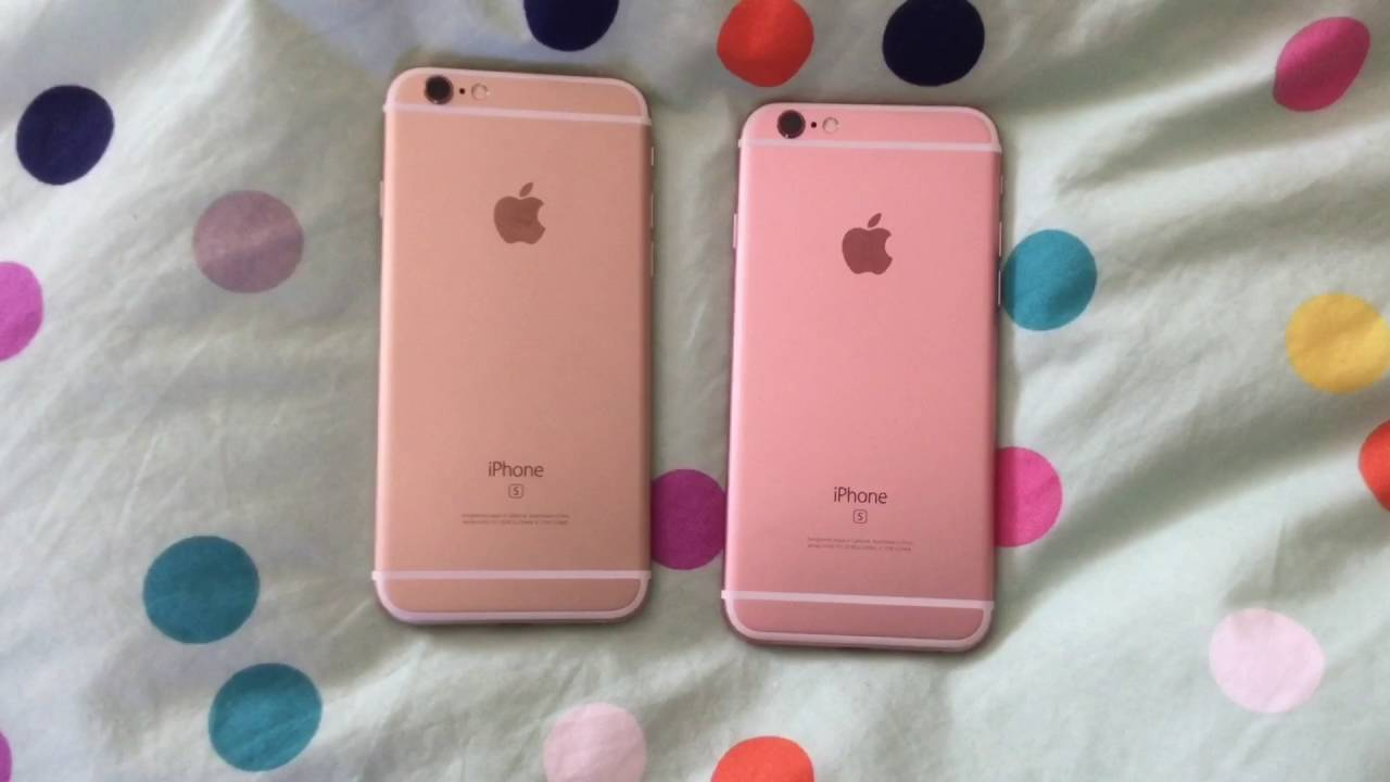 iphone pink gold gold vs gold iphone 6s 12135