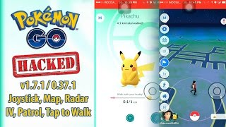Pokemon Go 1.7.1 / 0.37.1 Hack Tanpa Jailbreak! Map, Radar, Patrol, dll
