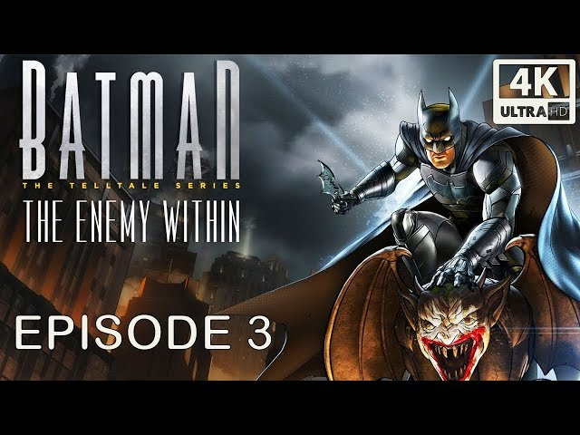 Batman: The Enemy Within Shadows Edition Episode 3 'Fractured Mask' (All Cutscenes) 4k 60FPS