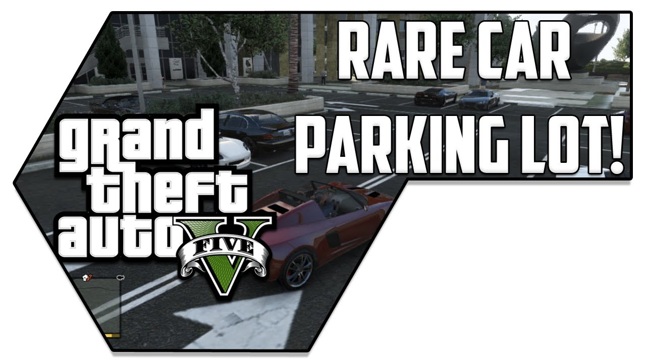 Rare car parking lot location gta v grand theft auto v for Location parking