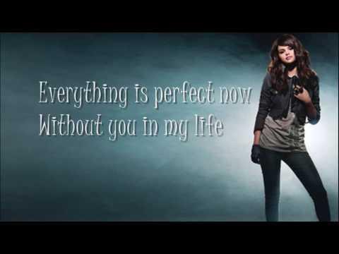 Selena Gomez I Dont Miss You At All Lyrics Youtube