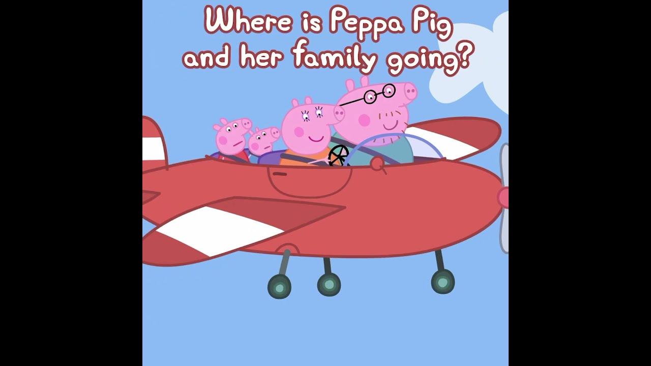 Where is Peppa Pig Going? #Shorts #Peppa #PeppaPig