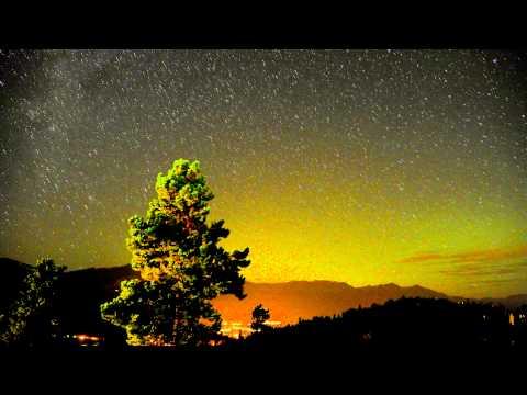4K Colorado Night Sky Time Lapse