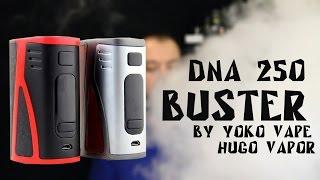 buster DNA 250 by Yoko Vape  хороший друг Finder и Triade  from www.everzon.com