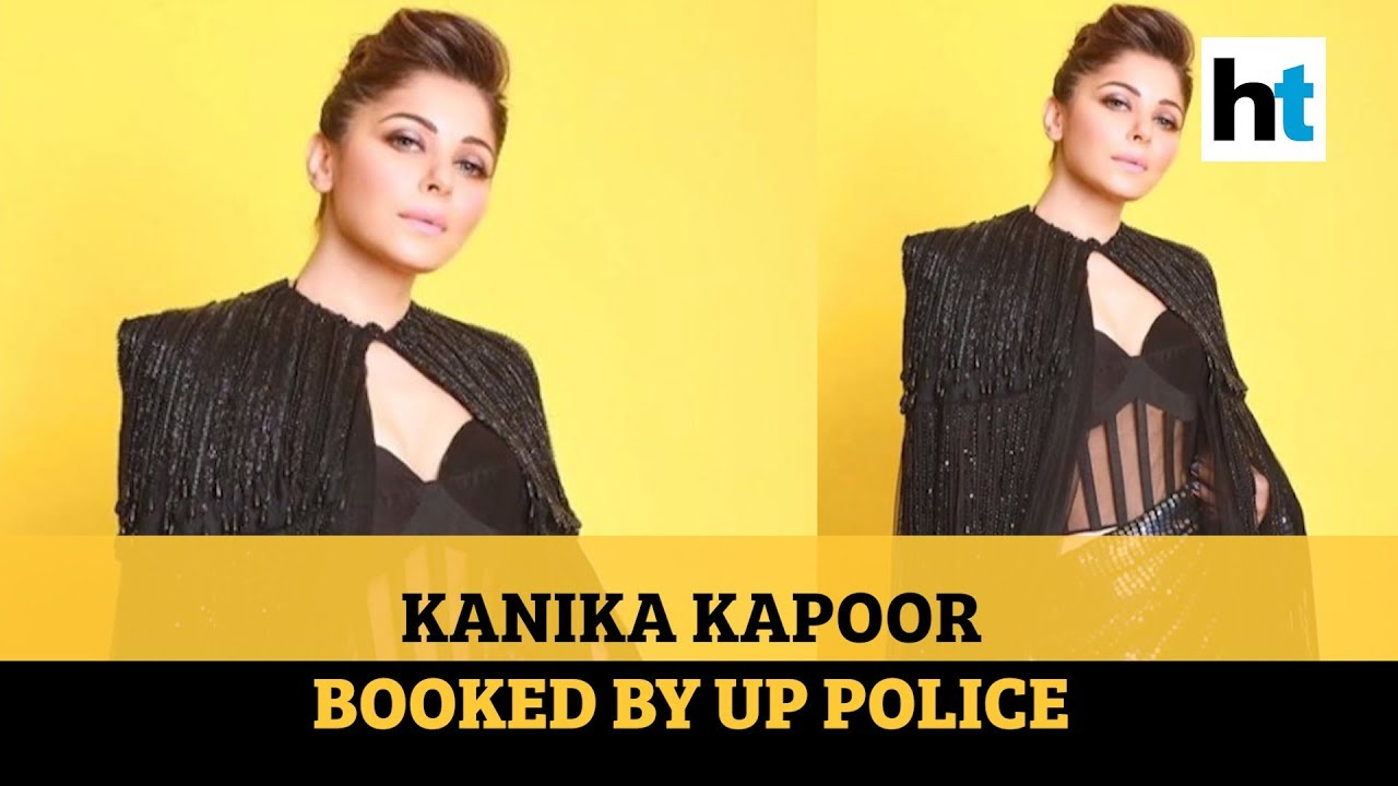 Singer Kanika Kapoor booked for negligence by Lucknow police