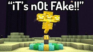 The Most HILARIOUS FĄKE Minecraft Speedruns...