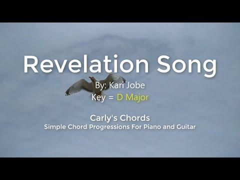 Revelation Song - Kari Jobe - CHORDS - KEY: D Maj