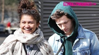 Zendaya Coleman & Tom Holland Speak On The