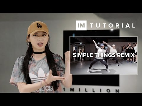 Simple Things (Remix) - Miguel ft. Chris Brown, Future / 1MILLION Dance Tutorial