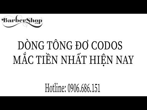 Tông Đơ Cắt Tóc Codos Chuyên Nghiệp Cho Tiệm Tóc CHC 980