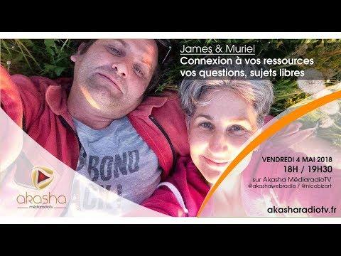 James & Muriel | Connexions à vos ressources, vos questions