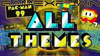 All Pac-Man 99 DLC Themes (Galaga, Dig Dug, Namco Classic \u0026 More!)