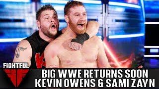 Kevin Owens, Sami Zayn Set For WWE Return Soon | Fightful Wrestling