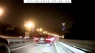 NEW fast car accident on highway in Russia!Volkswagen Touareg crash!ДТП.