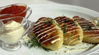 Картофельные зразы - котлеты с фаршем. Пошаговый рецепт.potato patties