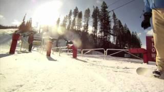 Snowboarding Early Season Steamboat 2012 Thumbnail