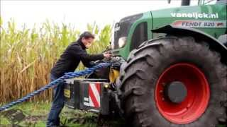 Tractorbumper in use