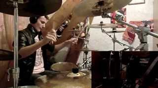 #20 - Antisocial - Trust (Drum Cover) by Gauthier GO Drummer