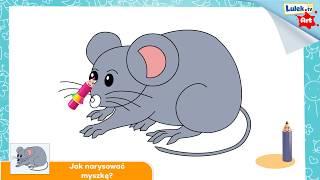 Jak narysować myszkę?