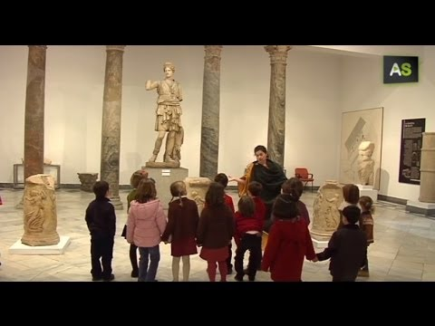 AS The Archeological Museum of Seville opens up to children with Roman style birthday parties