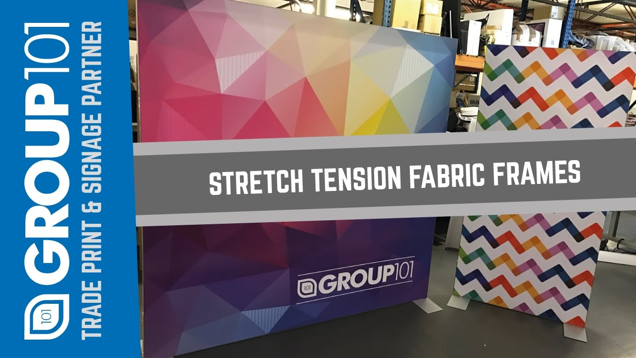 Stretch Tension Fabric Frames Dye Sublimation Printed with Kader ...
