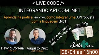 Live Code: Integrando a API do Salesforce com .NET