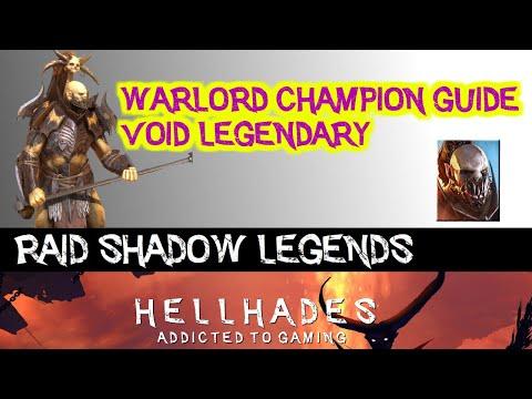 RAID: Shadow Legends   Warlord Champion Guide