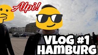 VLOG in HAMBURG   mit Alpi   Fans erkennen uns auf der Straße!
