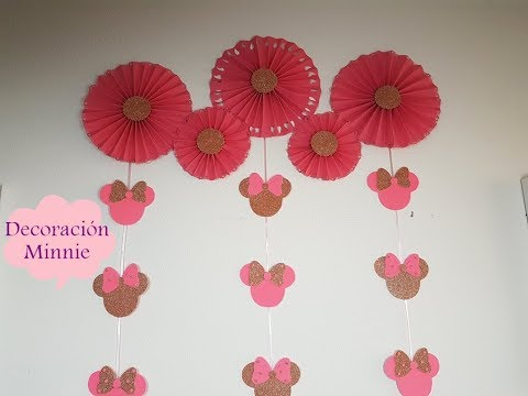 Decoración para la pared de minnie
