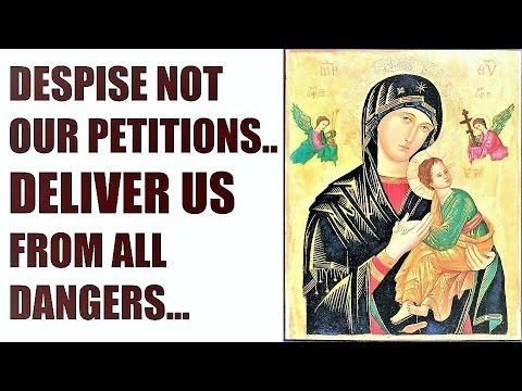 Powerful Protection - Oldest Hymn / Prayer to Blessed Virgin Mary, Sub tuum praesidium, Memorare