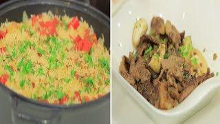 دجاج و ارز - لحم بتلو بالمشروم - كسكسي حلو | مغربيات حلقة كاملة