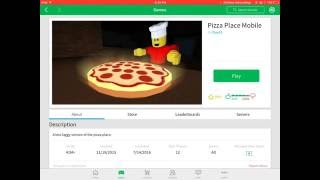pizza place mobile roblox series 1