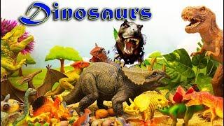 DINOSARS - Коллекция Динозавров - Видео обзор Игрушек для детей. Выбирай Приз!