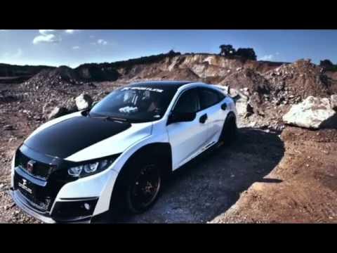 JCSPORTLINE Honda Civic 10th Type-R Style Car Body Kit - YouTube