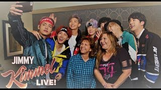 Jimmy Kimmel Live Show x BTS with beyond the scenes footage! MP3