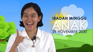 Ibadah Minggu 29 November 2020 untuk Anak-anak