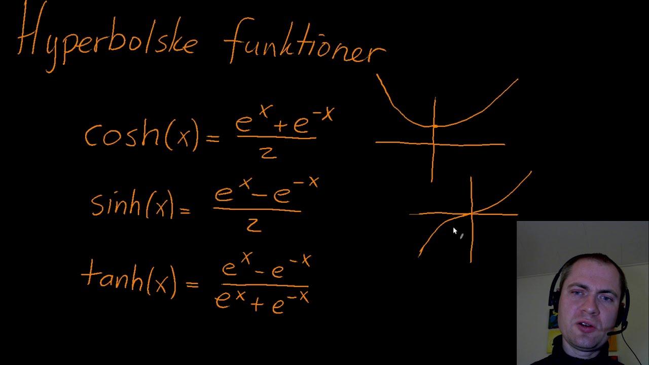 Hyperbolske funktioner